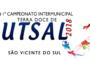 FINAL DO CAMPEONATO INTERMUNICIPAL DE FUTSAL ACONTECE NESTA QUARTA-FEIRA, 31