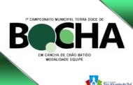 DECISÃO PELO TERCEIRO LUGAR DO MUNICIPAL DE BOCHA EM CANCHA DE CHÃO BATIDO SERÁ DECIDIDO HOJE, 28