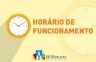 PREFEITURA ADOTA HORÁRIO DE VERÃO
