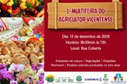 1ª MULTIFEIRA DO AGRICULTOR VICENTENSE