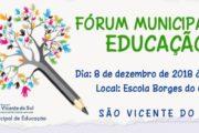 FÓRUM MUNICIPAL DE EDUCAÇÃO