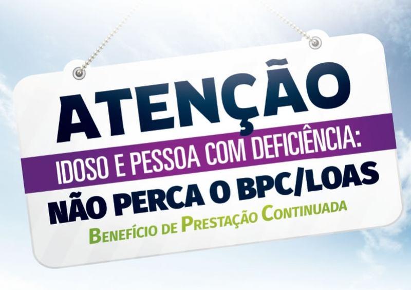 ATENÇÃO BENEFICIÁRIOS DO BPC (BENEFÍCIO DE PRESTAÇÃO CONTINUADA), CONVOCAÇÃO COM URGÊNCIA!