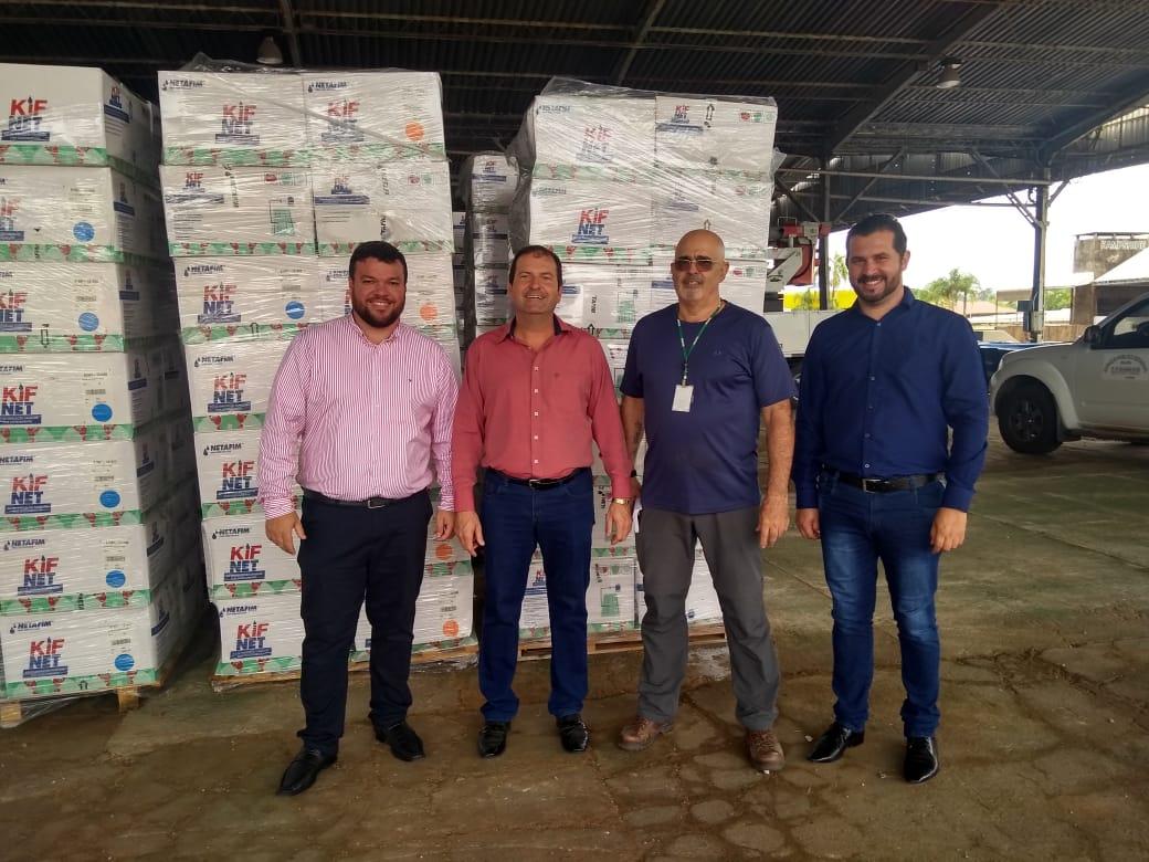 SECRETARIA DE AGRICULTURA RECEBE KITS DE IRRIGAÇÃO DO GOVERNO DO ESTADO