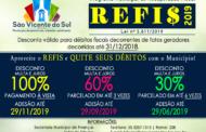 REFIS 2019 - (Programa de Recuperação Fiscal)