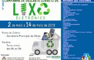 CAMPANHA DE DESCARTE CORRETO DE LIXO ELETRÔNICO