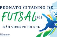 QUARTAS DE FINAL DO CAMPEONATO CITADINO DE FUTSAL ACONTECEM NA NOITE DESTA SEXTA-FEIRA, 31