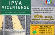 CAMPANHA IPVA VICENTENSE