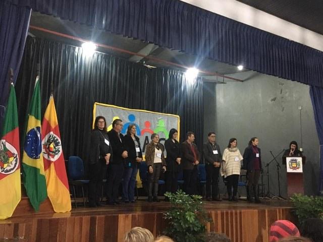 DELEGAÇÃO DE SÃO VICENTE DO SUL PARTICIPA DO 2º ENCONTRO REGIONAL DE CRAS
