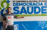 AGENTE DE SAÚDE DE SÃO VICENTE DO SUL PARTICIPOU DA 16ª CONFERÊNCIA NACIONAL DE SAÚDE EM BRASÍLIA