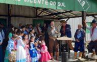 PREFEITO PAULO FLORES PARTICIPOU DA ABERTURA DA SEMANA FARROUPILHA