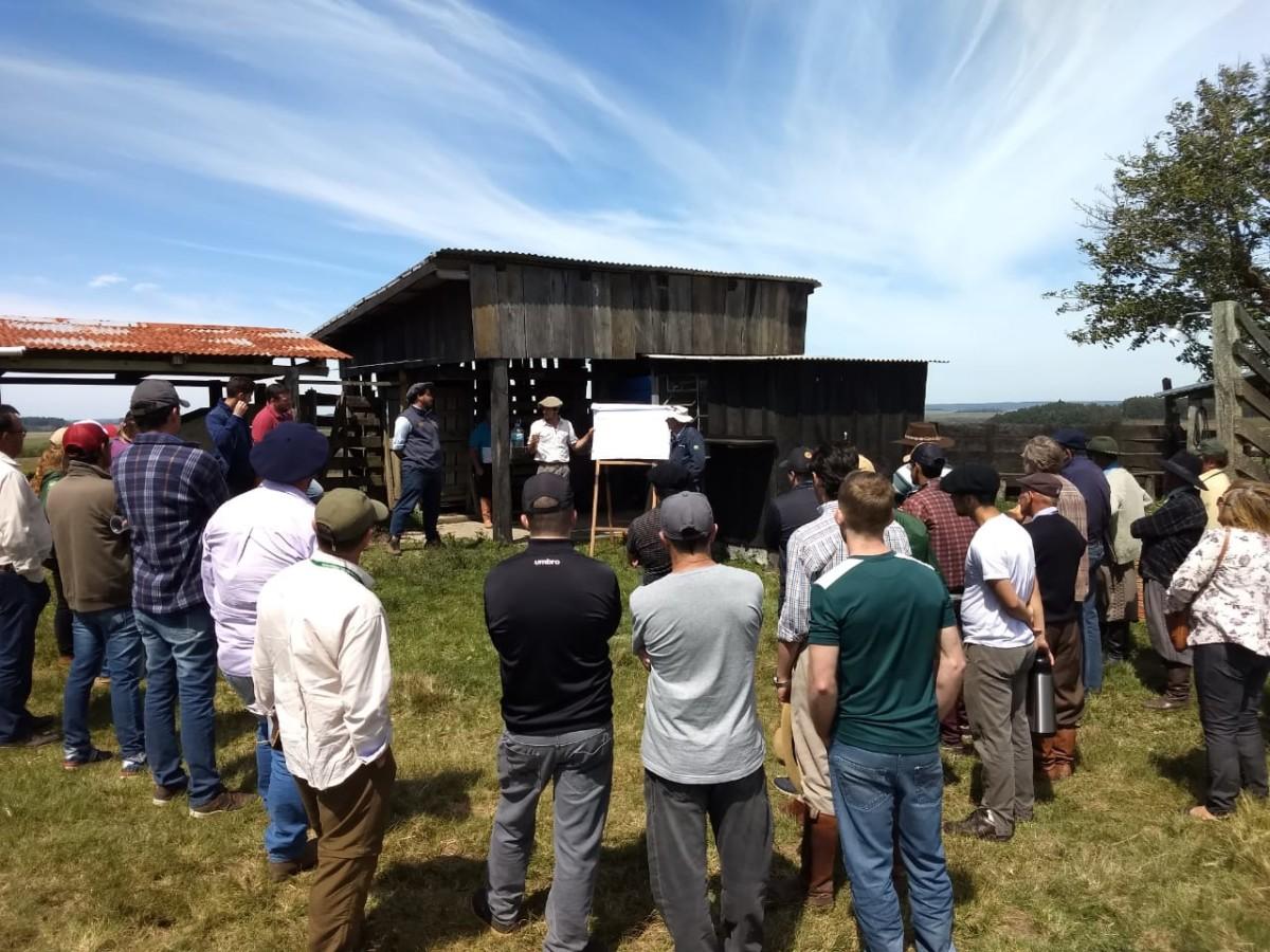 PREFEITO E SECRETÁRIO DE AGRICULTURA PARTICIPAM DE DIA DE CAMPO