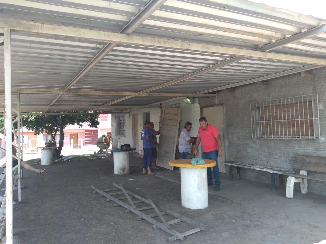 INICIA A OBRA DE REVITALIZAÇÃO DO CAMPO ALTO DA BRONZE
