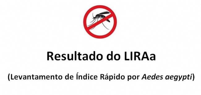 VIGILÂNCIA EM SAÚDE DIVULGA RESULTADO DO LIRAA (LEVANTAMENTO DE ÍNDICES DO Aedes aegypti) DE SÃO VICENTE DO SUL