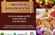 2ª MULTIFEIRA DO AGRICULTOR VICENTENSE