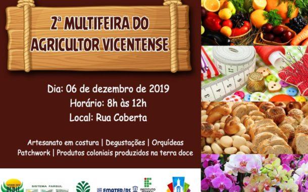 2ª MULTIFEIRA DO AGRICULTOR VICENTENSE