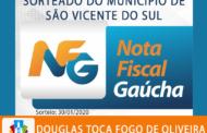 SORTEIO MUNICIPAL DO PROGRAMA NOTA FISCAL GAÚCHA ACONTECEU NESTA QUINTA-FEIRA, 30