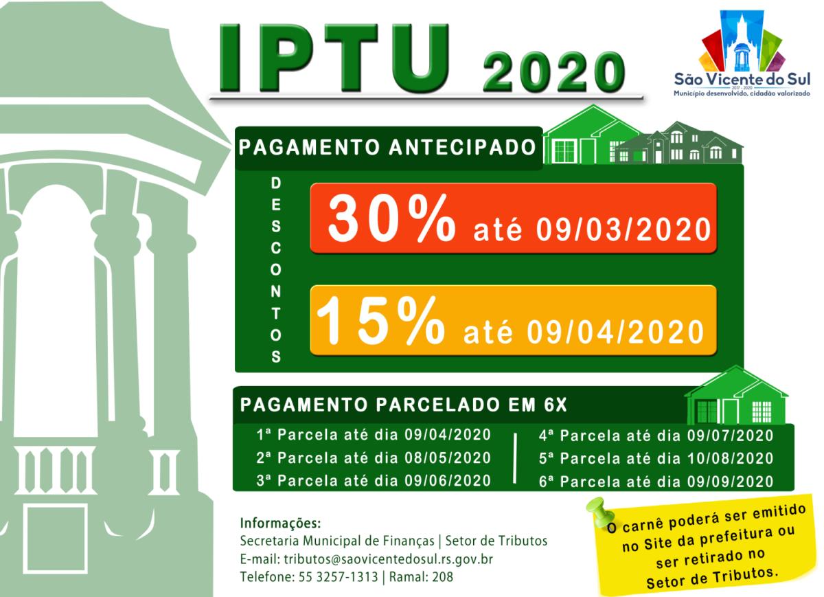 IPTU 2020