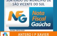 CONHEÇA O GANHADOR DA NOTA FISCAL GAÚCHA DO MÊS DE FEVEREIRO