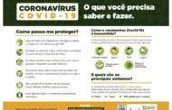 INFORMAÇÕES PARA PREVENÇÃO AO COVID-19
