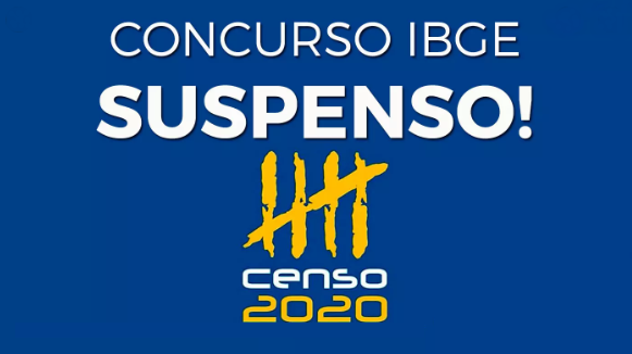IBGE ADIA CENSO PARA 2021 POR CAUSA DO COVID-19