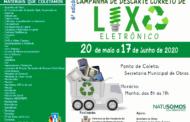 SECRETARIA MUNICIPAL DE MEIO AMBIENTE PROMOVE CAMPANHA DE COLETA DE LIXO ELETRÔNICO EM SÃO VICENTE DO SUL