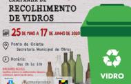 CAMPANHA DE RECOLHIMENTO DE VIDROS EM SÃO VICENTE DO SUL