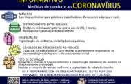 FISCAIS MUNICIPAIS REALIZAM FISCALIZAÇÃO ORIENTATIVA NOS BARES E RESTAURANTES