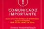 AVISO! ALTERAÇÃO DE DATAS DE ENTREGA DOS MATERIAIS DAS ESCOLAS MUNICIPAIS