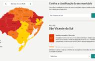 SÃO VICENTE DO SUL ESTÁ NA BANDEIRA VERMELHA CONFORME MODELO DE DISTANCIAMENTO CONTROLADO DO ESTADO