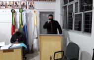 SECRETÁRIO DE MEIO AMBIENTE APRESENTA PARA O LEGISLATIVO O PROJETO DE LEI DO PLANO MUNICIPAL DE SANEAMENTO BÁSICO DE SÃO VICENTE DO SUL