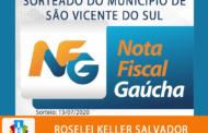CONHEÇA A VICENTENSE GANHADORA DA NOTA FISCAL GAÚCHA DO MÊS DE MARÇO