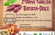 2º DRIVE THRU DA BATATA-DOCE ACONTECE NESTA SEXTA-FEIRA