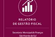 RELATÓRIO DE GESTÃO FISCAL REFERENTE AO 2º QUADRIMESTRE DE 2020