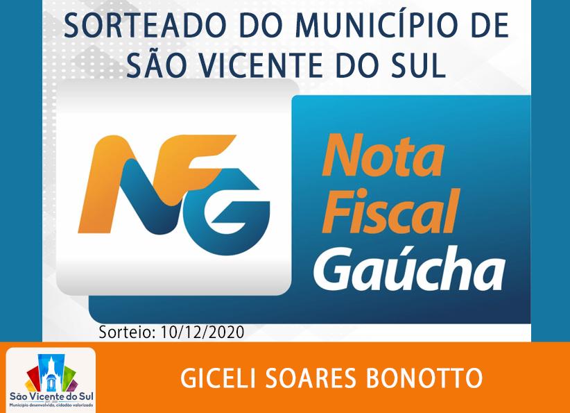 CONHEÇA A GANHADORA DA NOTA FISCAL GAÚCHA DO MÊS DE DEZEMBRO