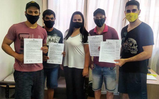 TERMOS DE COMPROMISSOS DO PRÊMIO MULTICULTURAL DE SÃO VICENTE DO SUL FORAM ASSINADOS NESTA TERÇA, 29