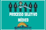 EDITAL N° 002/2021 – PROCESSO SELETIVO SIMPLIFICADO - Médico Internista/Responsável Técnico.