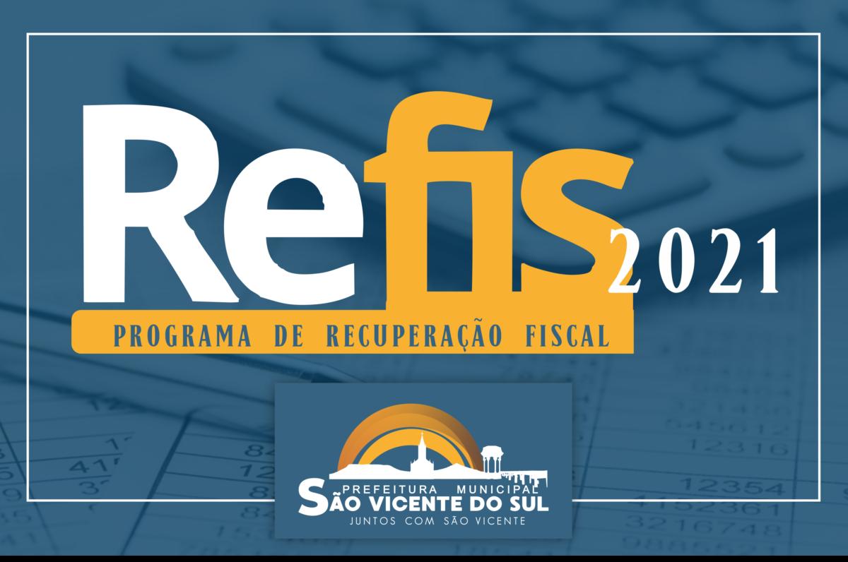 REFIS PROGRAMA DE RECUPERAÇÃO FISCAL
